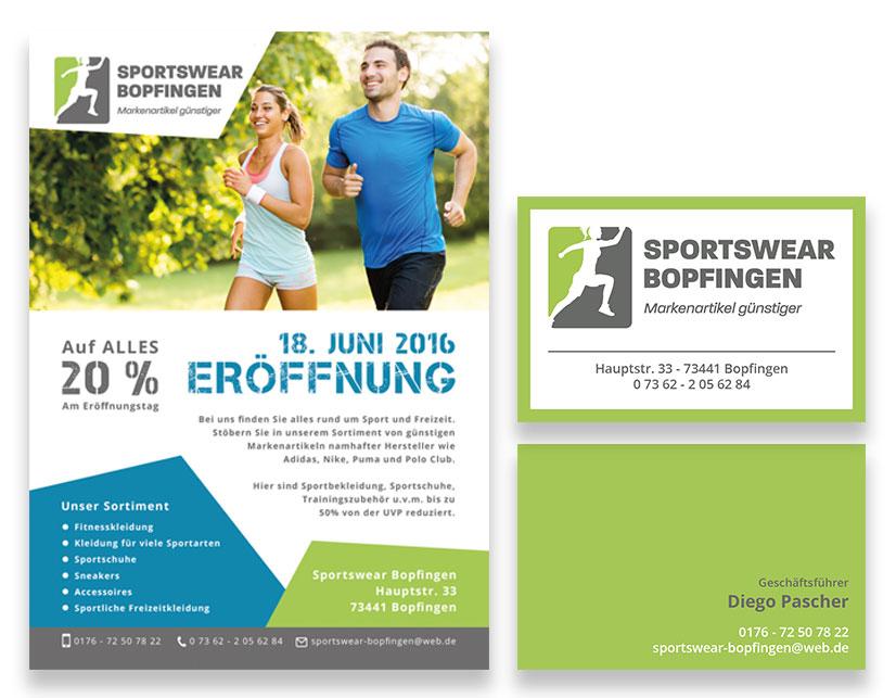 Sportswear Bopfingen Logo Art Shipper Designstudio